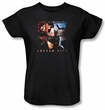 Batman Ladies T-Shirt - Arkham City Escape Is Impossible Black Tee