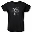 Batman Ladies T-Shirt - Materialized Black Tee