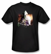 Batman T-Shirt - Arkham City Certified Insane Adult Black Tee