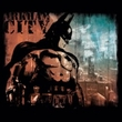 Batman T-Shirt – Arkham City Knockout Adult Black Tee