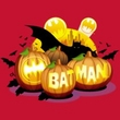 Batman T-Shirt - Bat O Lanterns Adult Red Tee