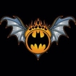 Batman T-Shirt - Bat Wings Logo Adult Black Tee