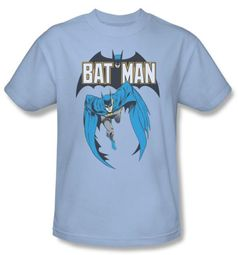 Batman T-Shirt - Batman #241 Cover Adult Light Blue Tee