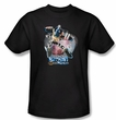 Batman T-Shirt - Batman Mech Adult Black Tee