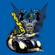 Batman T-Shirt - By Air and By Land Adult Royal Tee