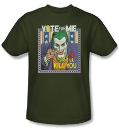Batman T-Shirt - Dark Detective #1 Adult Military Green Tee