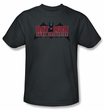 Batman T-Shirt - Dark Detective Adult Charcoal Tee