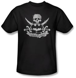 Batman T-Shirt - Dark Pirate Adult Black Tee