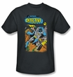 Batman T-Shirt - Detective #487 Adult Black Tee