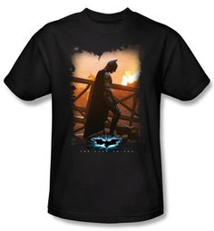 Batman T-Shirt - From The Ashes Adult Black Tee