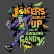 Batman T-Shirt - Goblin Candy Adult Charcoal Grey Tee