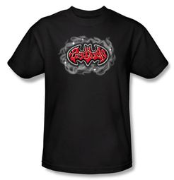 Batman T-Shirt - Hip Hop Logo Adult Black Tee
