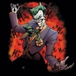 Batman T-Shirt - Joker's Ave Adult Black Tee