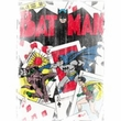 Batman T-Shirt - Number 11 Distressed Adult White Tee