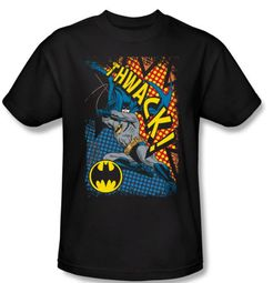 Batman T-Shirt - Thwack Adult Black Tee