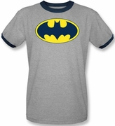 Batman T-Shirts - Adult Ringers