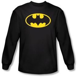 Batman T-shirts Long Sleeve