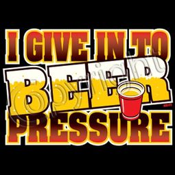 Beer Pressure T-shirt - Funny Drinking Tee
