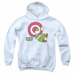 Beetle Bailey Kids Hoodie Target Nap White Youth Hoody