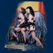 Betty Bettie Page Juniors Shirt Notorious Color Navy T-shirt