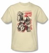 Betty Bettie Page Shirt Beauty and the Beast Cream T-shirt