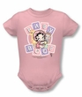Betty Boop Baby Romper Infant Creeper Baby Boop And Friends Pink