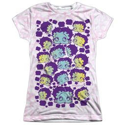 Betty Boop Boop & Repeat Sublimation Juniors Shirt