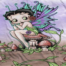 Betty Boop Fairy Sublimation Shirts
