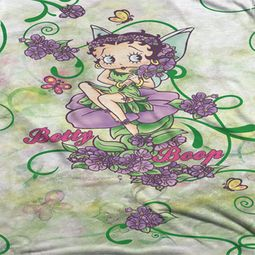 Betty Boop Flower Fairy Sublimation Shirts