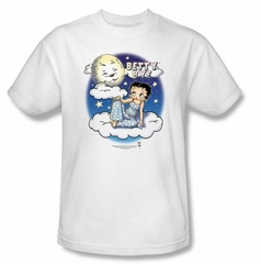 Betty Boop Kids T-shirt Betty Bye Youth White Tee Shirt