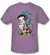 Betty Boop Kids T-shirt Fairy Youth Lilac Tee Shirt