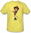 Betty Boop Kids T-shirt Firefighter Youth Banana Tee Shirt