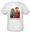 Betty Boop Kids T-shirt Hollywood Youth White Tee Shirt