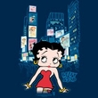 Betty Boop Kids T-shirt Square Youth Black Tee Shirt