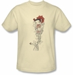 Betty Boop Kids T-shirt Thorns Youth Cream Tee Shirt