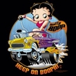 Betty Boop Ladies T-shirt Keep On Boopin Black Tee Shirt