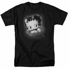 Betty Boop Shirt Vintage Star Black Tee T-Shirt