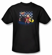 Betty Boop T-shirt Hot Rod Boop Adult Black Tee