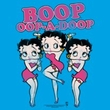Betty Boop T-shirt The Boops Have It Adult Turquoise Tee Shirt