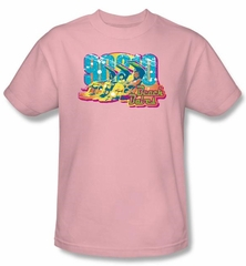 Beverly Hills 90210 Kids T-shirt Beach Babes Youth Pink Tee Shirt