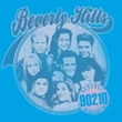 Beverly Hills 90210 Kids T-shirt Circle Of Friends Youth Turquoise Tee