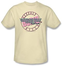 Beverly Hills 90210 T-shirt To Be or Not To Be Adult Cream Tee Shirt