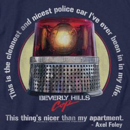 Beverly Hills Cop Nicest Police Car Shirts