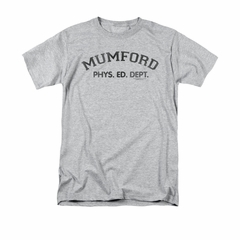 Beverly Hills Cop Shirt Mumford Adult Athletic Heather Tee T-Shirt