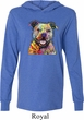Beware of Pit Bulls They Will Steal Your Heart Lightweight Hoodie Tee