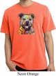 Beware of Pit Bulls They Will Steal Your Heart Pigment Dyed Shirt