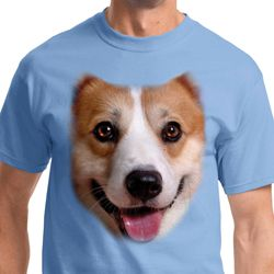Big Corgi Face Shirts