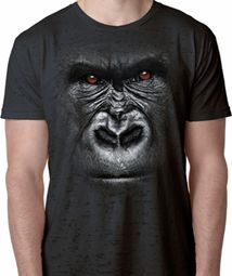 Big Gorilla Face Shirts