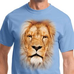 Big Lion Face Mens Shirts