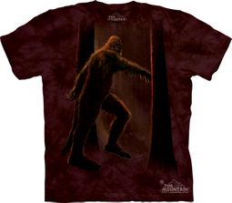 Bigfoot Shirt Tie Dye Sasquatch Yeti Forest T-shirt Adult Tee